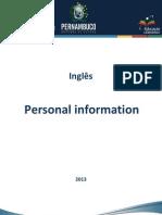 Arquivo 6.Personal Information - Handout