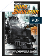 Content Creator's Guide for the Trainz Classics | Text File | 3 D