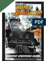 Trainz 2004 Content Creators Guide