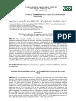 Distribuição longitudinal de fertilizantes em função do passo do helicóide