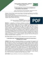 Variáveis complementares para avaliação da distribuição longitudinal de sementes