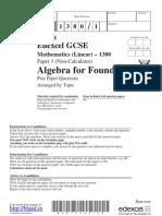 Algebra.foundation