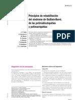 Principios de Rehabilitacion Del Sindrome de Guillain Barre de Las