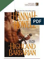 Howell Hannah -  El Bárbaro de las Highlands