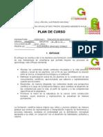 Plan Anual Ciencias 2012