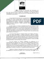 Lineamientos para la Organización y Funcionamiento de los Órganos Colegiados