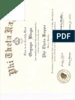 Phi Theta Kappa Membership