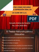 El Teatro Como Recurso Para La Expresin Oral