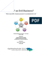 Is ERP an Evil Business? paper by Jayabalaji Sathiyamoorthi