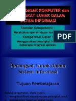 Perangkat Lunak Dalam Sistem Informasi(1)