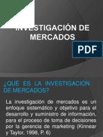 1.1 PRESENTACION INVESTIGACIÓN DE MERCADOS
