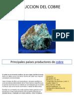 Produccion Del Cobre