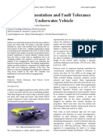 Stability Augmentation and Fault Tolerance for a Hexapod Underwater Vehicle