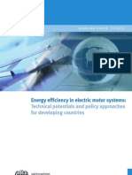 Energy efficiency in electric motor systems