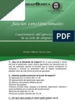 Cuestionario de Juicios Constitucionales