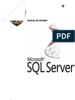 Manual Usuario SQL Server