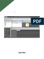 Manual Esapro PDF
