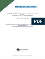 Biodisponibilidad Del Zn Org e Inorg