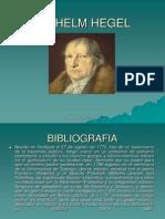 Presentacion Wilhelm Hegel