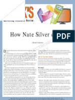 How Nate Silver Did It by Michael Lieberman
