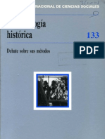 La Sociología Histórica. Revista de Ciencias Sociales