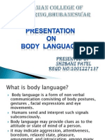 Presentation on Body Language