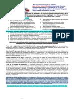 Formulario Becas Universitarios 2012