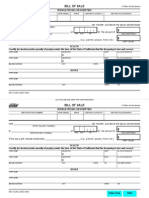 California DMV Bill of Sale (REG 135)