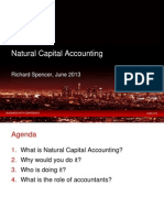 Natural Capital Accounting Without Notes by Richard Spencer