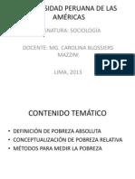 UNIVERSIDAD PERUANA DE LAS AMÉRICAS-POBREZA