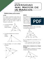 Geometría 02 TRIÁNGULO (lineas y puntos notables)