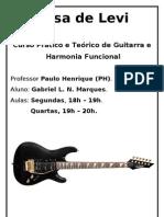 Apostila de Guitarra - Casa de Levi