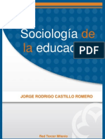 Sociologia de La Educacion (ALIAT UNIVERSIDADES)