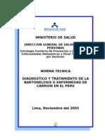 Bartonella Guia Peru