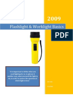 The Basics of Flashlights and Work Lights