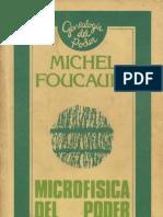 Foucault Microfisica CapI