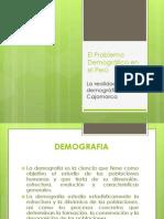 PRESENTACION REALIDAD DEMOGRAFICA DEL PERÚ