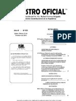 Instructivo Aplicacion Sanciones Pecuniarias Ro 553 11 Oct 2011