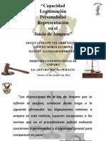 Capacidad-Legitimacion-Personalidad-Representacion en El Juicio de Amparo-Equipo 7
