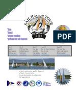 2009 SAIL Junior Tour Schedule