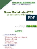 Novo Modelo de ATER