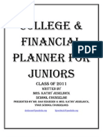 Junior College Planning Class 2011