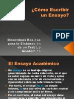 Redaccion Ensayo