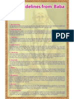 Ten Guidelines From Sai Baba