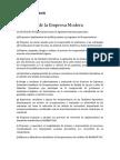 Funciones de La Empresa Modera