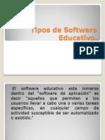 Tipos de Software Educativo