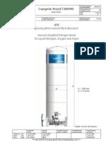 Data Sheet Cryogenic Vessel T18V490