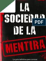 La Sociedad de La Mentira