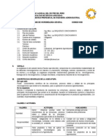 Silabo Microbiologia General