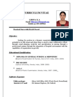 Updated Curriculum Vitae Libina